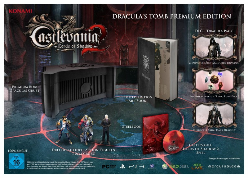 Castlevania Lords of Shadow 2 PC C.E. Draculas Tomb Premium Edition