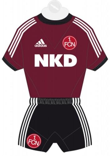 1. FC Nürnberg Mini-Trikot [rot]