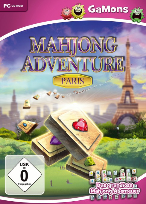 Mahjong Adventure: Paris