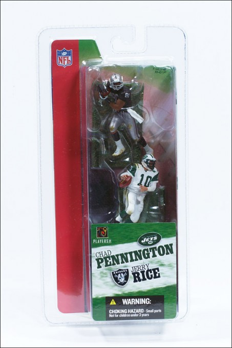 "NFL 7 cm - 3"" Fig. Serie I (C. Pennington/J. Rice)"