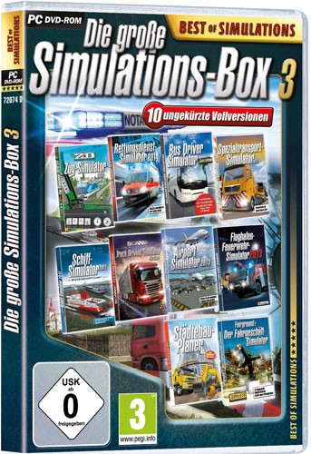 Die große Simulations-Box 3 Best of Simulations