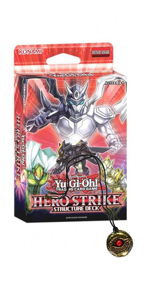 Yu-Gi-Oh! Hero Strike Structure Deck und Amulett des Herrschers