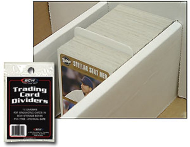 BCW Trading Card Dividers (10 ct.)