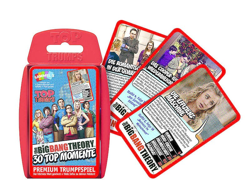 Top Trumps: The Big Bang Theory