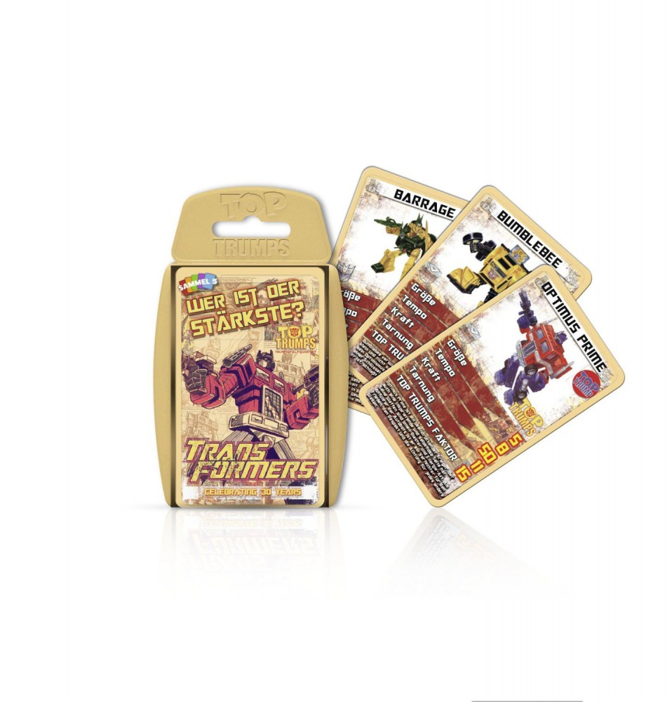 Top Trumps: Transformers Retro