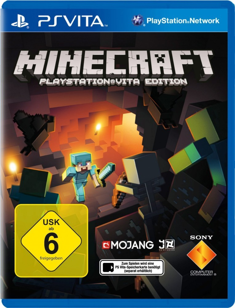 Minecraft PSVita
