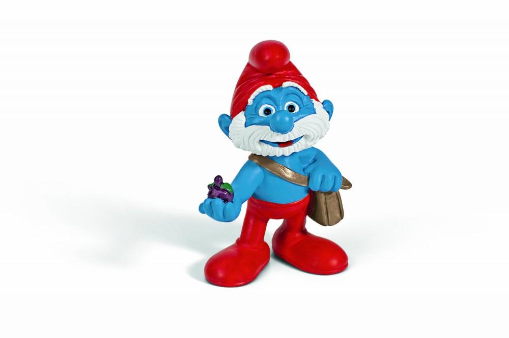 Die Schlümpfe - Papa Schlumpf mit Tasche