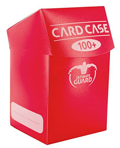 Ultimate Guard Kartenbox Card Case 100+ Rot