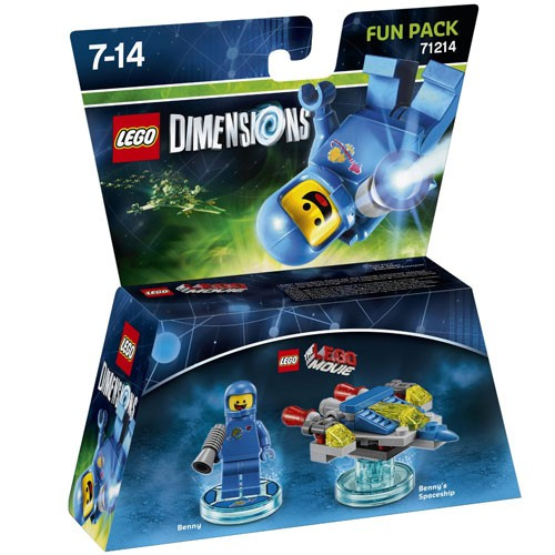 LEGO Dimensions Benny Fun Pack (The LEGO Movie) (71214)