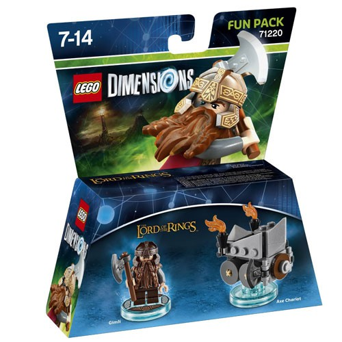 LEGO Dimensions Gimli Fun Pack (The Lord of the Rings) (71220)