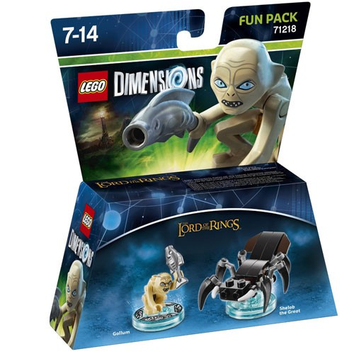 LEGO Dimensions Gollum Fun Pack (The Lord of the Rings) (71218)