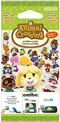 amiibo Karten 3 Stück Animal Crossing Happy Home Designer