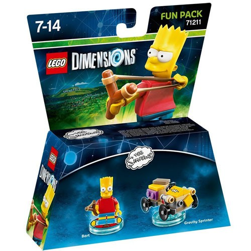LEGO Dimensions Bart Fun Pack (The Simpsons) (71211)