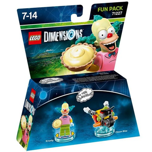 LEGO Dimensions Krusty Fun Pack (The Simpsons) (71227)
