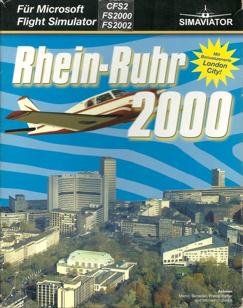 Flight Simulator 2000 - Szenery Rhein-Ruhr 2000