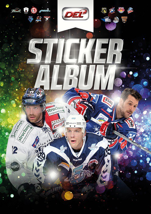 2015-16 DEL Sticker Album + 2 Packs