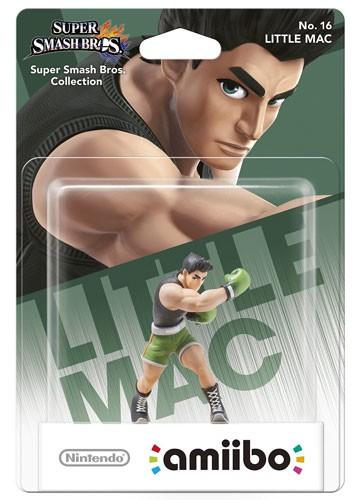 amiibo Smash Little Mac #16 Figur