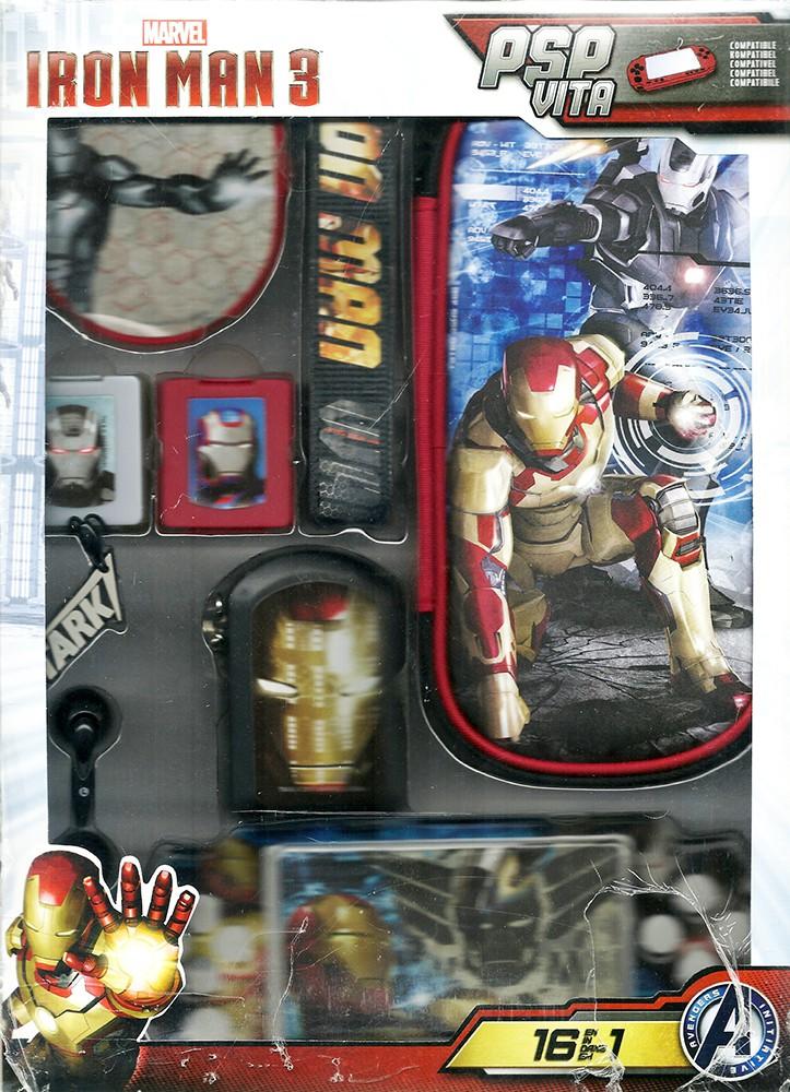 """Zubehör Set 16in1 für Sony PSP """"Avengers - Iron Man"""""""