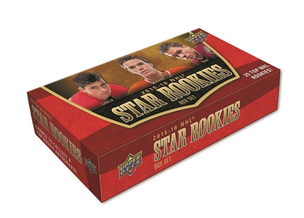 2015-16 NHL Star Rookies Box Set