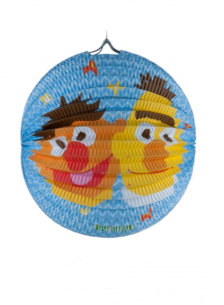 "Laterne Sesamstraße 25 cm ""Ernie & Bert"""