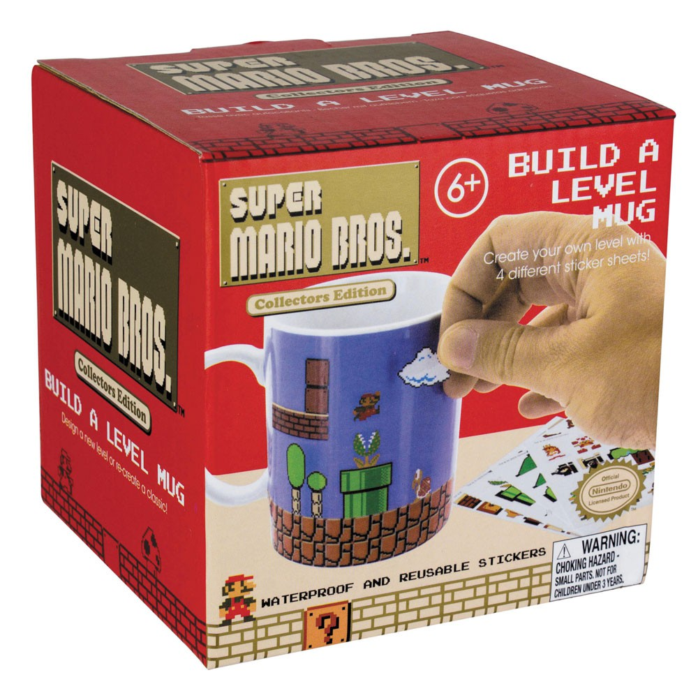 Nintendo - Super Mario Bros Build A Level Mug