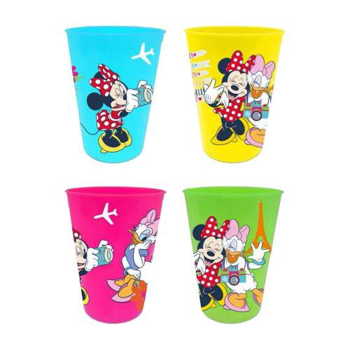 Minnie & Daisy Trinkbecher 4er Set [Kunststoff]