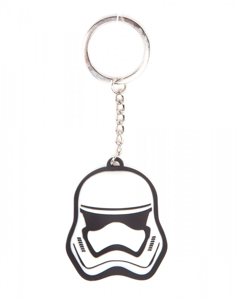 Star Wars Stormtrooper Rubber Keychain 3D