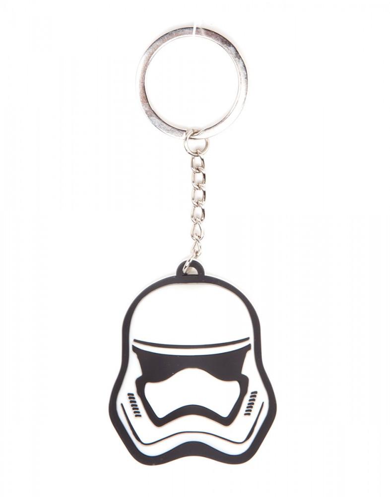 Star Wars Stormtrooper Rubber Keychain 3D