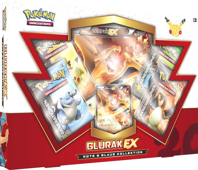 Pokemon Kollektion Glurak-EX Box