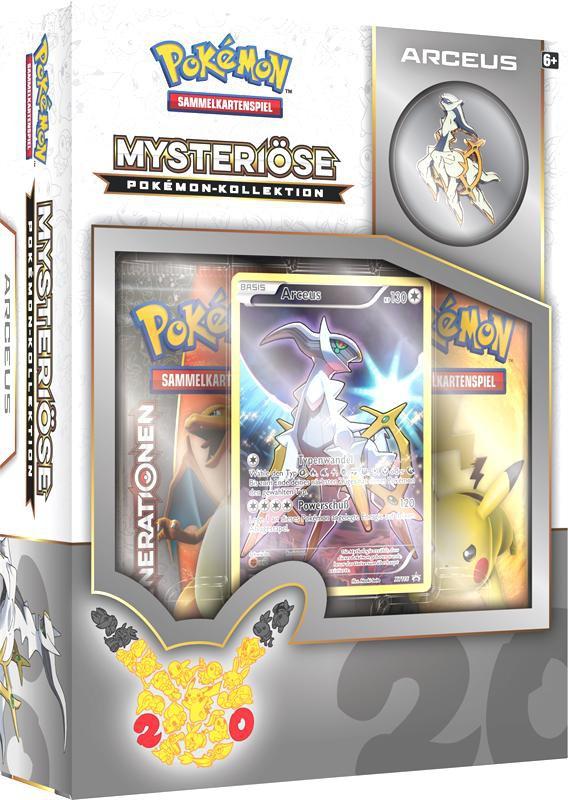 Mysteriöse Pokémon-Kollektion Arceus