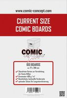 Comic Concept Comic Boards Current Size (100 Stück)