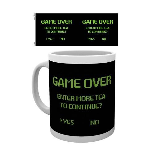 Tasse Game Over - Continue?