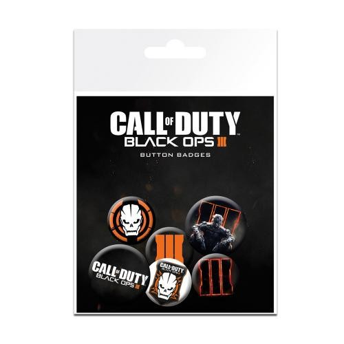 Button 6er Set - Call of Duty Black Ops III