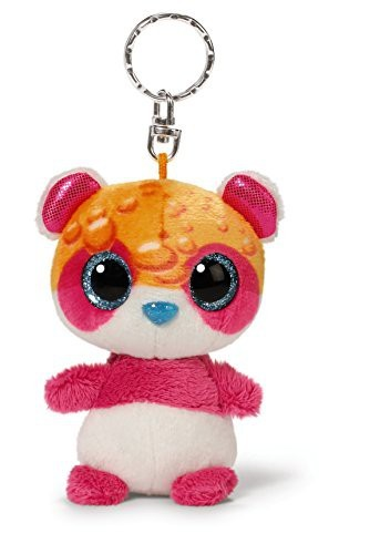 Nici 40435 - Nicidoos Bubble Panda Gingsgungs Schlüsselanhänger, 9 cm