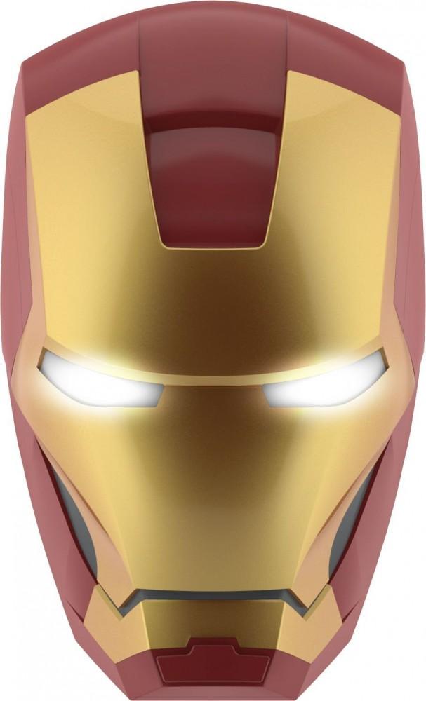 3D LED Wandleuchte Iron Man