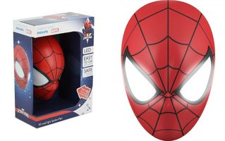 Marvel Spider-Man Maske 3-D Wall Light/Wandleuchte