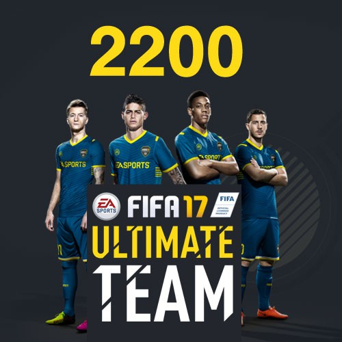 FIFA 17 2200 Ultimate Team Punkte (DLC Only)