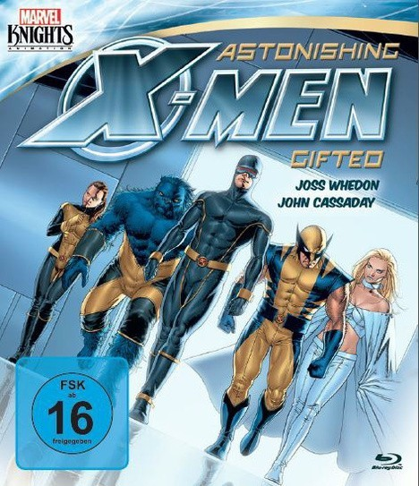 Marvel Knights Astonishing X-Men: Gifted (OmU) (Blu-Ray)