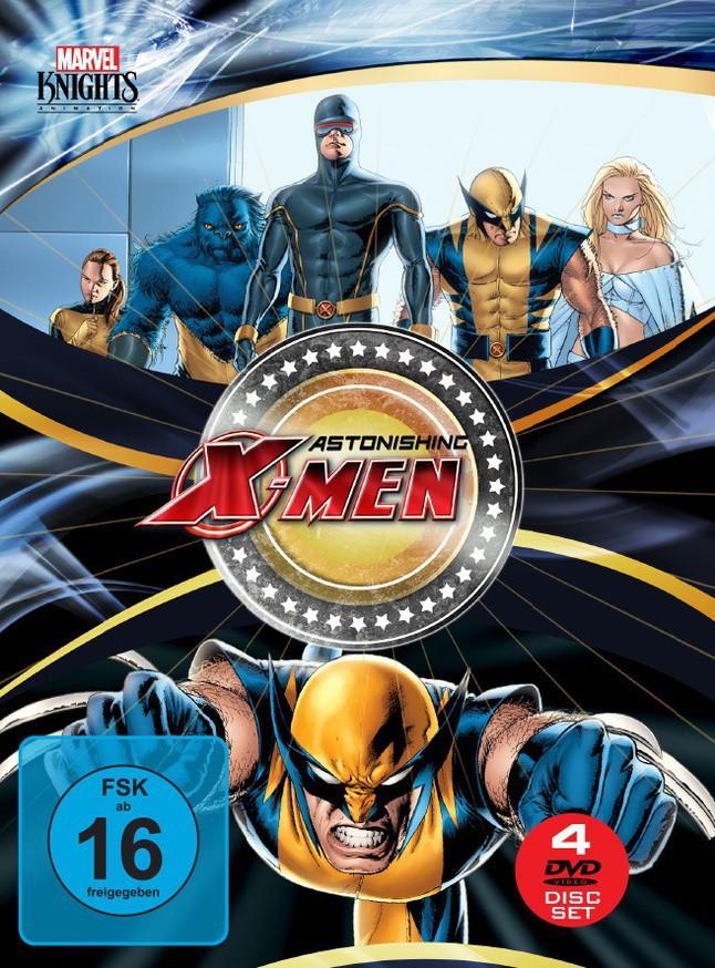Astonishing X-Men Box (OmU) [4 DVDs]