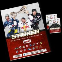 2016-17 DEL Sticker Album + 2 Packs