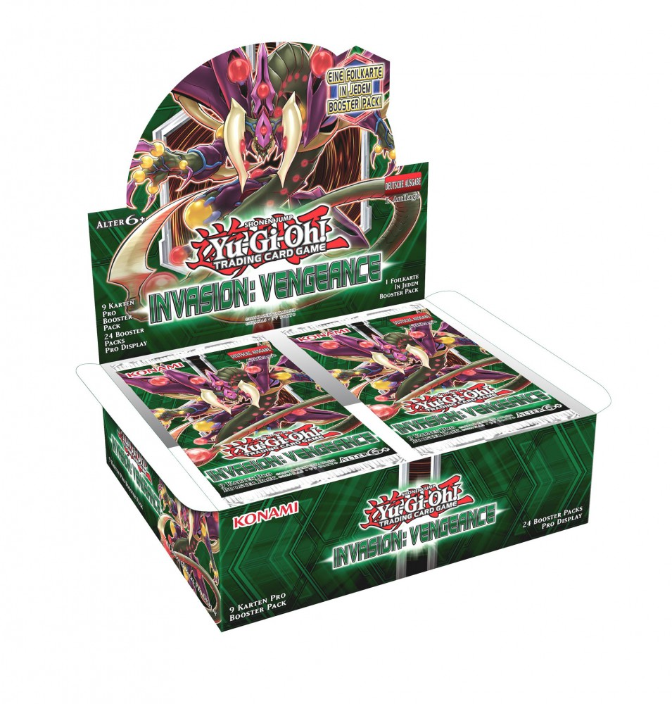 Yu-Gi-Oh! Invasion: Vengeance Display (24 Booster)