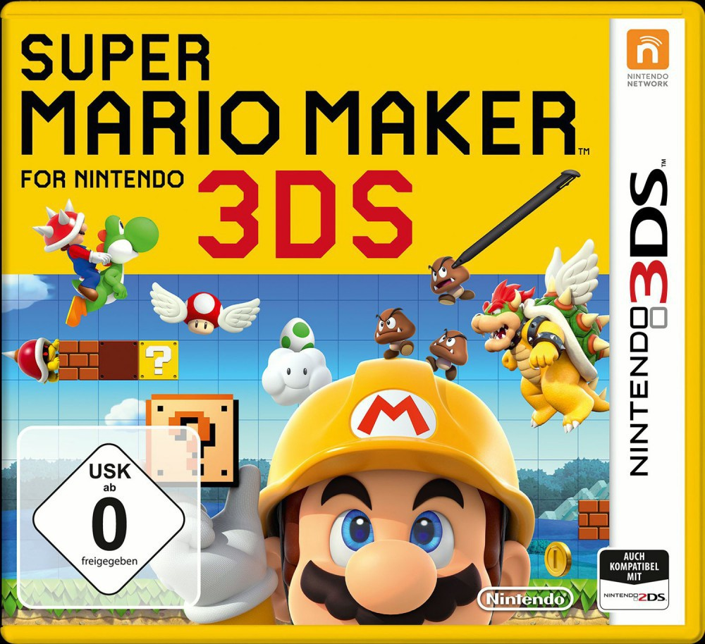 Super Mario Maker für Nintendo 3DS