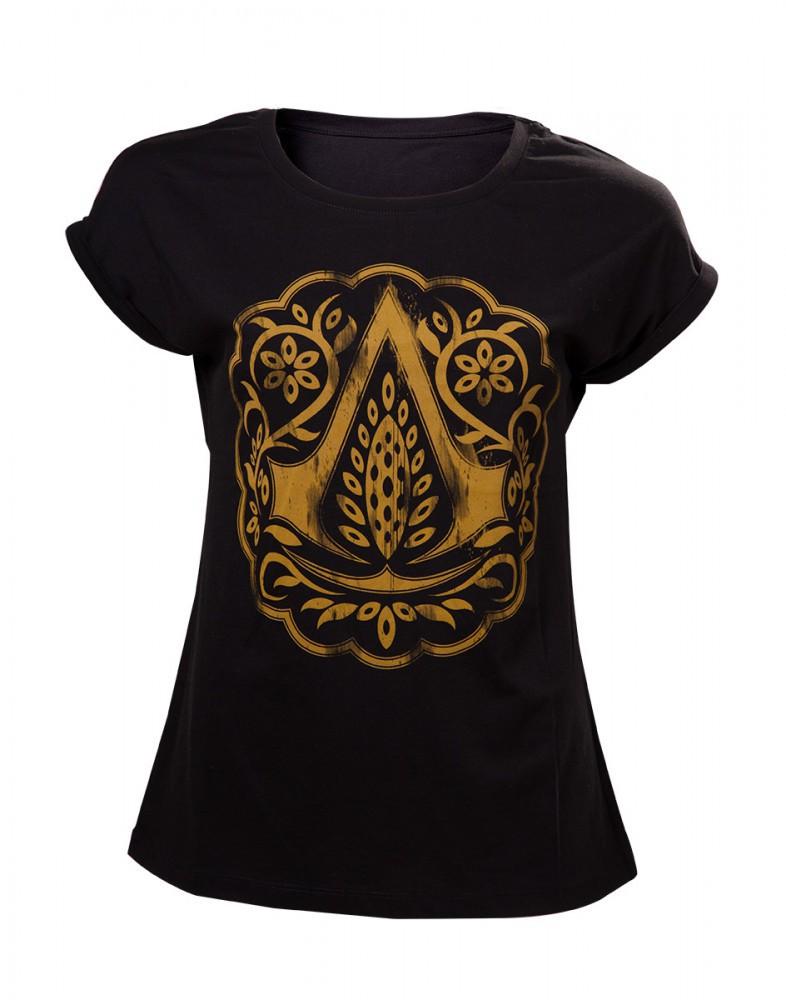 Assassins Creed Movie Logo Womens T-Shirt S
