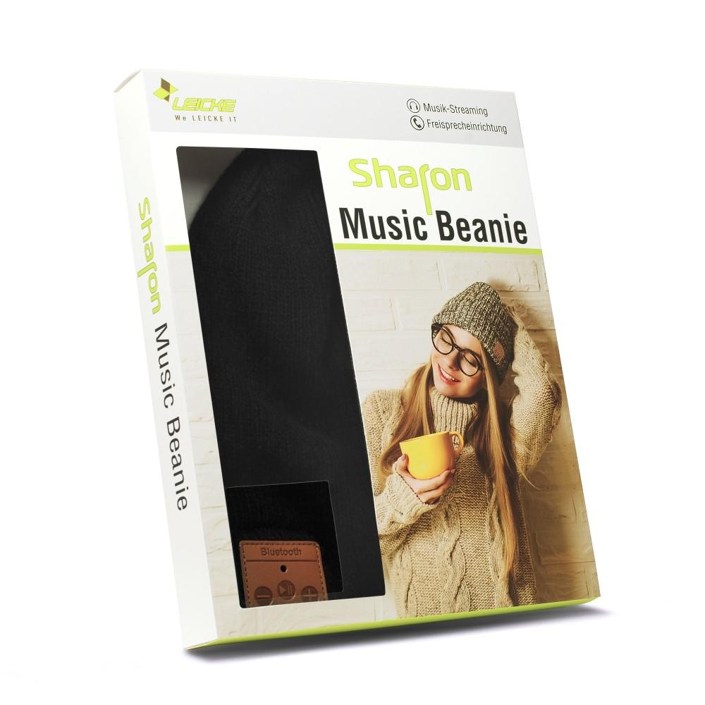 LEICKE Sharon Music Beanie mit Bluetooth schwarz – Bild 3