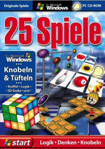 25 Spiele - Knobeln & Tüfteln
