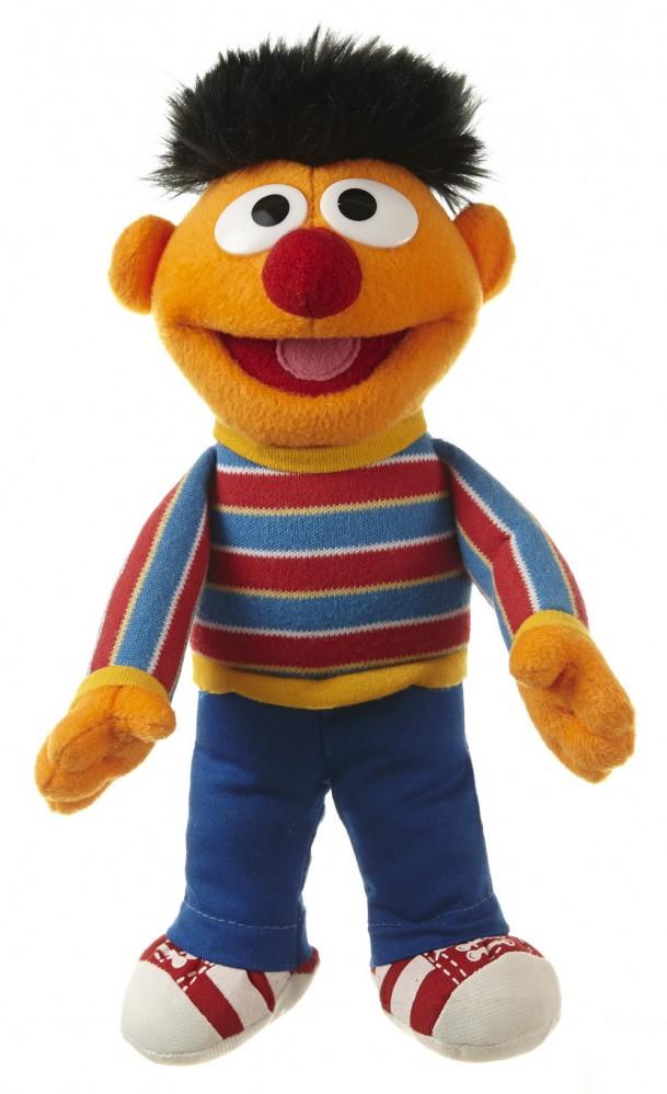 Living Puppets kleine Plüschfigur Ernie aus der Sesamstraße 23 cm