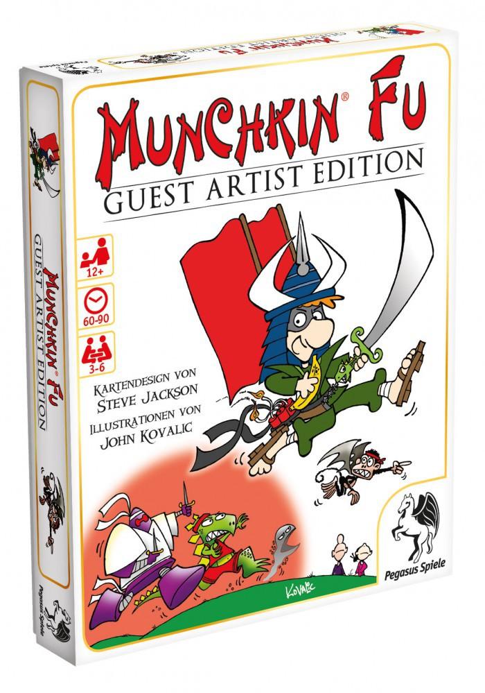 Munchkin Fu Guest Artist Edition (Kovalic Version) – Bild 1