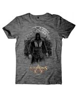 Assassin's Creed Movie - Aguilar on Grey Grindle T-Shirt L