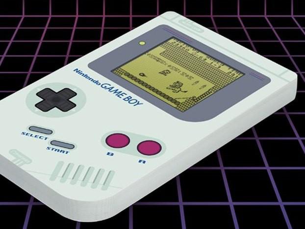 Nintendo Game Boy Notizbuch Super Mario Land