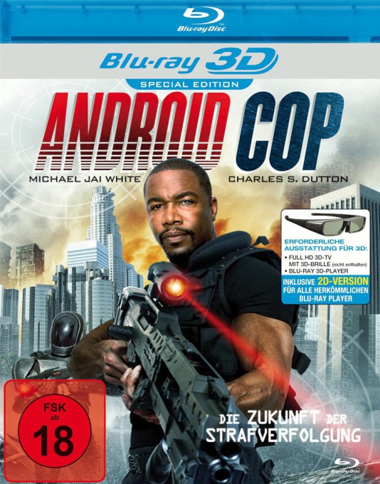 Android Cop (Blu-ray 3D)
